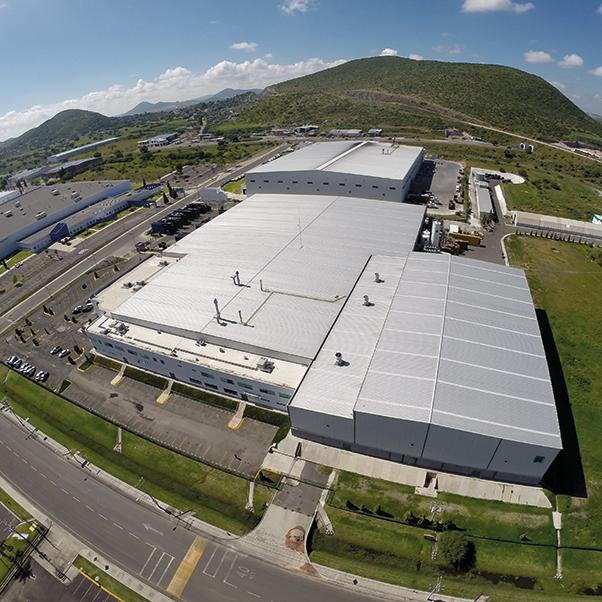Constructora industrial en m xico caabsa steel for Calefactores para naves industriales